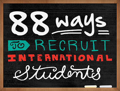 88 Ways to Recruit International Students