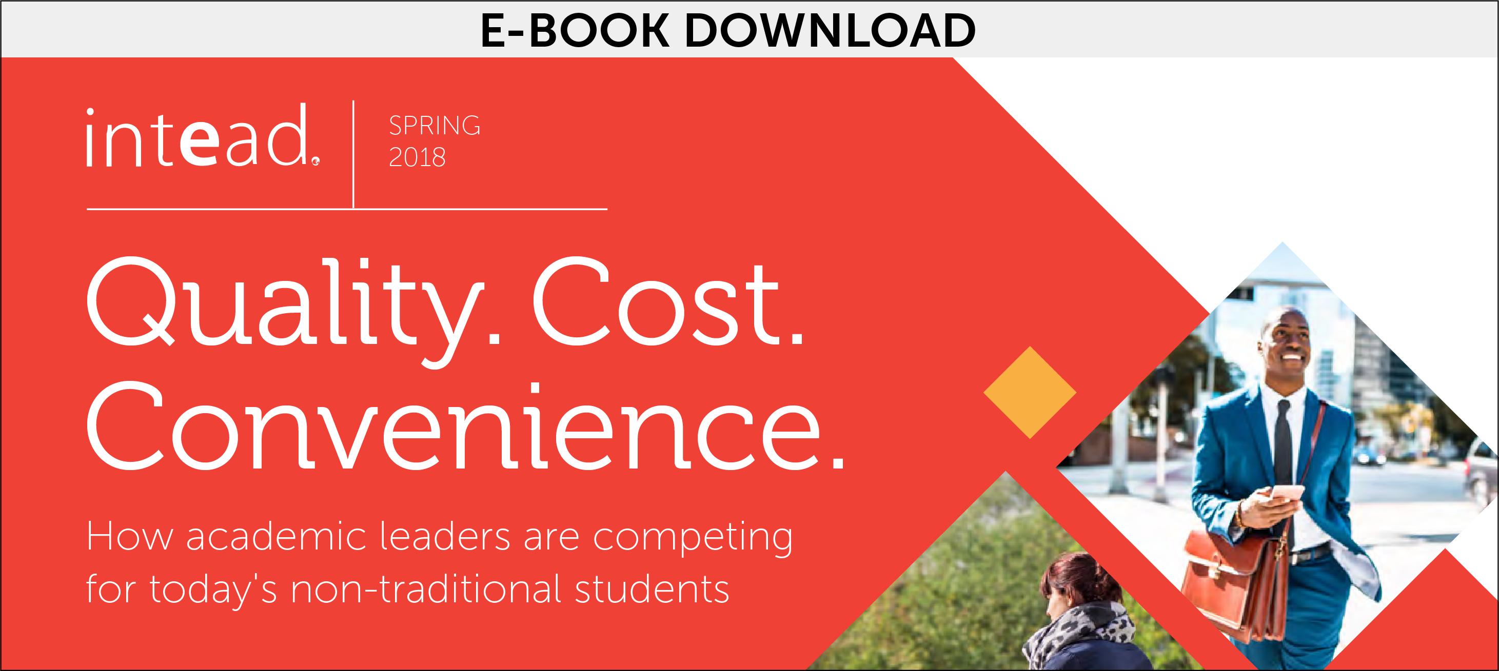 Quality. Cost. Convenience. - eBook